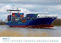 Der Weg ist das Ziel 2019. Ein Kalender für Spedition und Logistik (Tischkalender 2019 DIN A5 quer) - Produktdetailbild 1