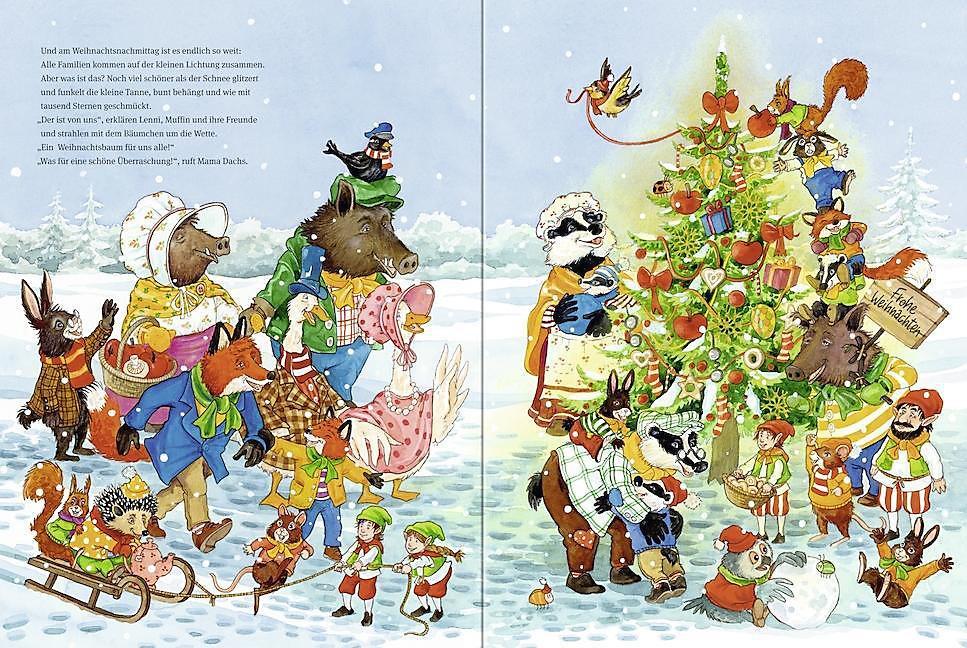 Der Weihnachts-Wimmelbaum Buch portofrei bei Weltbild.de