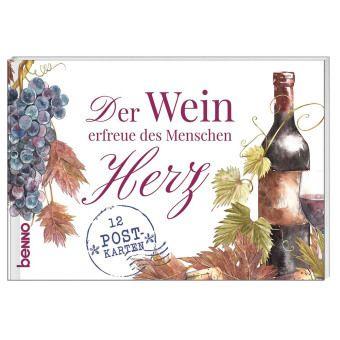 Der Wein erfreue des Menschen Herz, 12 Postkarten