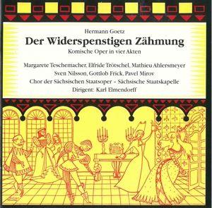 Der Widerspenstigen Zähmung, Nilsson, Teschemacher, Elmendorf