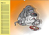 Der witzige Hundeplaner (Wandkalender 2019 DIN A2 quer) - Produktdetailbild 3