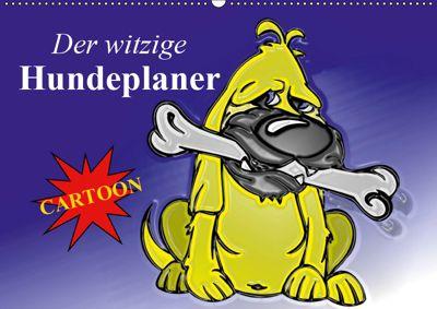 Der witzige Hundeplaner (Wandkalender 2019 DIN A2 quer), Elisabeth Stanzer