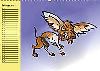 Der witzige Hundeplaner (Wandkalender 2019 DIN A2 quer) - Produktdetailbild 2