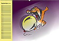 Der witzige Hundeplaner (Wandkalender 2019 DIN A2 quer) - Produktdetailbild 9