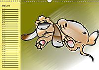 Der witzige Hundeplaner (Wandkalender 2019 DIN A3 quer) - Produktdetailbild 5