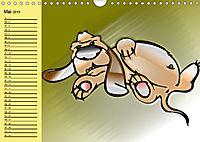 Der witzige Hundeplaner (Wandkalender 2019 DIN A4 quer) - Produktdetailbild 5