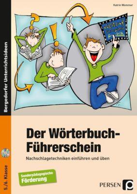 Der Wörterbuch-Führerschein, m. CD-ROM, Katrin Wemmer