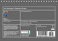 Der Wörthersee - Österreichs Riviera (Tischkalender 2019 DIN A5 quer) - Produktdetailbild 13