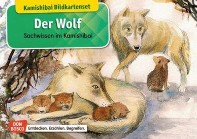 Der Wolf, Kamishibai Bildkartenset - Katharina Stöckl |