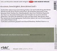 Der zerbrochne Krug, 2 Audio-CDs - Produktdetailbild 1