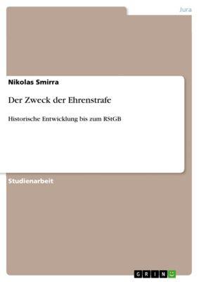 Der Zweck der Ehrenstrafe, Nikolas Smirra