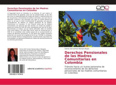 Derechos Pensionales de las Madres Comunitarias en Colombia, Geimis del Carmen Romero Reyes