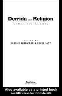 Derrida and Religion