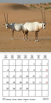 Deserts of Arabia (Wall Calendar 2019 300 × 300 mm Square) - Produktdetailbild 2