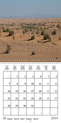 Deserts of Arabia (Wall Calendar 2019 300 × 300 mm Square) - Produktdetailbild 1