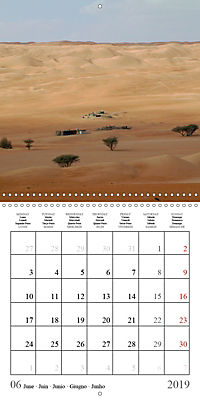 Deserts of Arabia (Wall Calendar 2019 300 × 300 mm Square) - Produktdetailbild 6