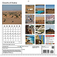 Deserts of Arabia (Wall Calendar 2019 300 × 300 mm Square) - Produktdetailbild 13