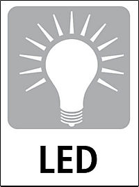 "Design-LED-Uhr ""Iron Samurai"", breit - Produktdetailbild 3"