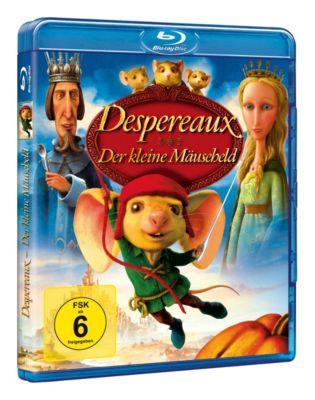 Despereaux - Der kleine Mäuseheld, Kate DiCamillo, Will McRobb, Gary Ross, Chris Viscardi
