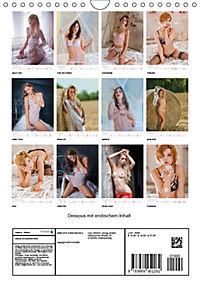 Dessous mit erotischem Inhalt (Wandkalender 2019 DIN A4 hoch) - Produktdetailbild 13