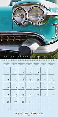 Details of American Cars (Wall Calendar 2018 300 × 300 mm Square) - Produktdetailbild 5