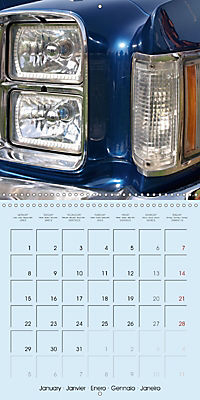 Details of American Cars (Wall Calendar 2018 300 × 300 mm Square) - Produktdetailbild 1