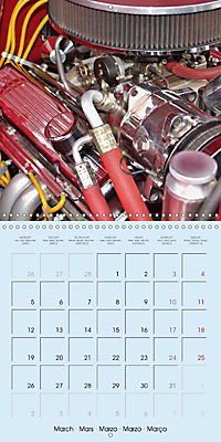 Details of American Cars (Wall Calendar 2018 300 × 300 mm Square) - Produktdetailbild 3