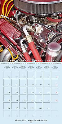 Details of American Cars (Wall Calendar 2018 300 × 300 mm Square) - Produktdetailbild 3