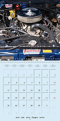 Details of American Cars (Wall Calendar 2018 300 × 300 mm Square) - Produktdetailbild 6