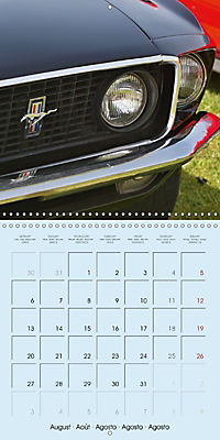 Details of American Cars (Wall Calendar 2018 300 × 300 mm Square) - Produktdetailbild 8