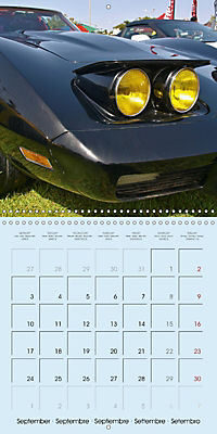 Details of American Cars (Wall Calendar 2018 300 × 300 mm Square) - Produktdetailbild 9