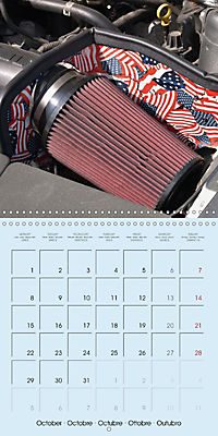 Details of American Cars (Wall Calendar 2018 300 × 300 mm Square) - Produktdetailbild 10