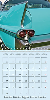 Details of American Cars (Wall Calendar 2018 300 × 300 mm Square) - Produktdetailbild 12