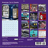 Details of American Cars (Wall Calendar 2018 300 × 300 mm Square) - Produktdetailbild 13