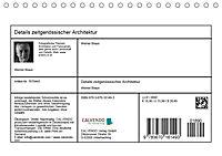 Details zeitgenössischer Architektur (Tischkalender 2019 DIN A5 quer) - Produktdetailbild 13
