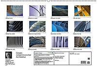 Details zeitgenössischer Architektur (Wandkalender 2019 DIN A2 quer) - Produktdetailbild 13