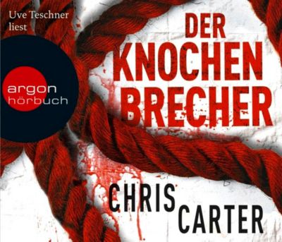 Detective Robert Hunter Band 3: Der Knochenbrecher, 6 CDs, Chris Carter