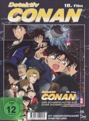 Detektiv Conan - 18. Film: Der Scharfschütze aus einer anderen Dimension Limited Edition