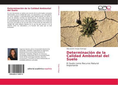 Determinación de la Calidad Ambiental del Suelo, Alba Josefa Vargas Buitrago