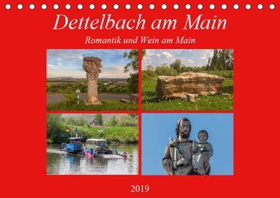 Dettelbach am Main (Tischkalender 2019 DIN A5 quer), Hans Will