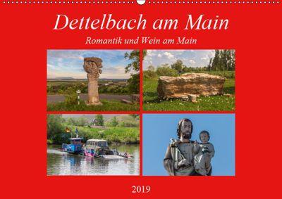 Dettelbach am Main (Wandkalender 2019 DIN A2 quer), Hans Will