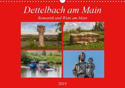 Dettelbach am Main (Wandkalender 2019 DIN A3 quer), Hans Will