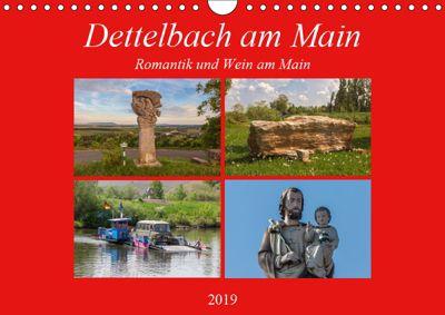 Dettelbach am Main (Wandkalender 2019 DIN A4 quer), Hans Will