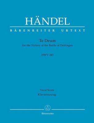 Dettinger Te Deum HWV 283, Georg Friedrich Händel