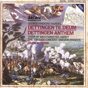 Dettinger Te Deum Und Anthem, Westminster Abbey Choir, Preston, Ec