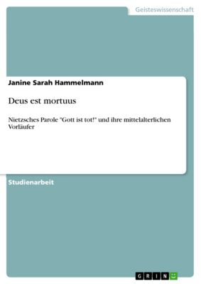 Deus est mortuus, Janine Sarah Hammelmann