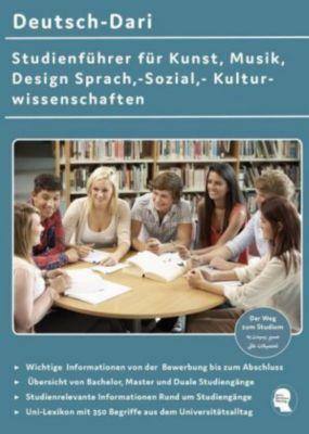 Deutsch-Dari Studienführer für Kunst, Musik, Design Sprach,-Sozial,- Kulturwissenschaften - Noor Nazrabi |
