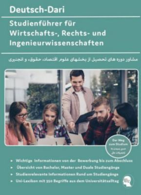 Deutsch-Dari Studienführer für Wirtschafts-, Rechts- und Ingenieurwissenschaften - Noor Nazrabi |