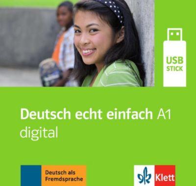 Deutsch echt einfach: A1 - digital (Ganz- und Teilbände), USB-Stick