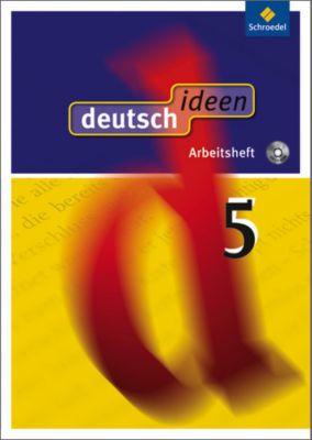 deutsch.ideen SI, Allgemeine Ausgabe 2010: 5. Schuljahr, Arbeitsheft m. CD-ROM